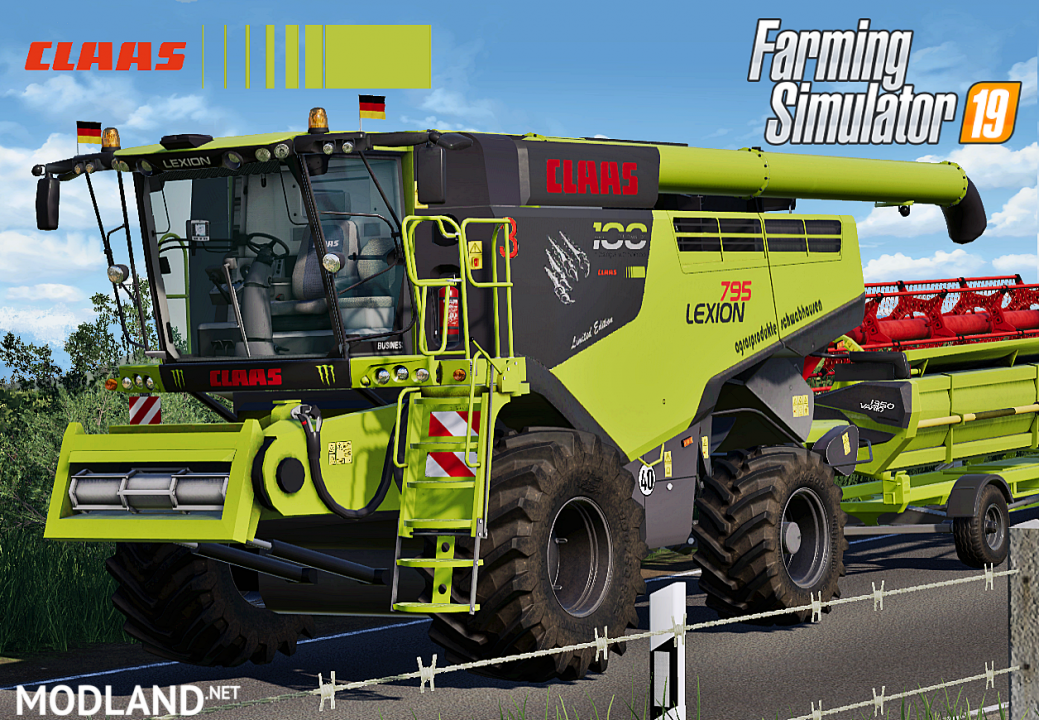 Claas Lexion 795 Monster Limited Edition