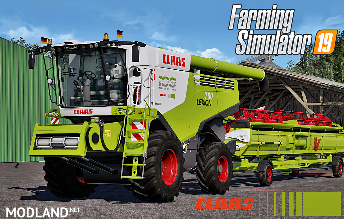 Claas Lexion 780 Full Pack