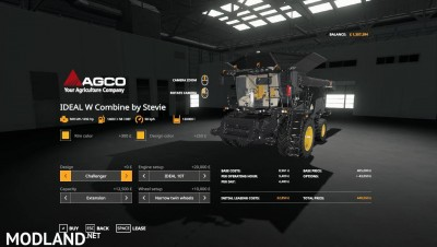 AGCO IDEAL 9 Combine By Stevie, 4 photo