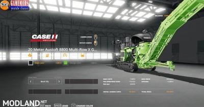 CASE Austoft 8800 +20m Sugarcane Harvester v 1.0, 2 photo