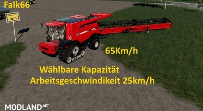 Case Axial 9240 with capacity option and working speed 25Km/h v 1.0