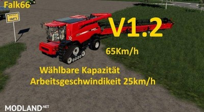 Case Axial 9240 with capacity option and working speed 25Km/h v 1.2