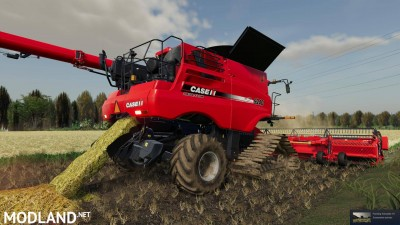 Case Axial-Flow 9240 steel tracks v 2.0, 2 photo