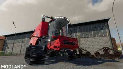 Case Axial-Flow 9240 steel tracks v 2.0, 1 photo