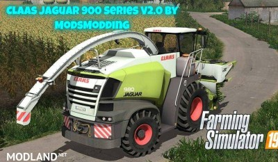 Claas Jaguar 900 Series v 2.0
