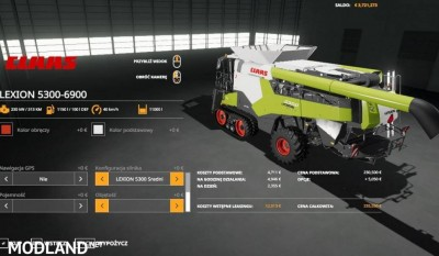 CLAAS Lexion 5300 6900 v 1.0, 2 photo