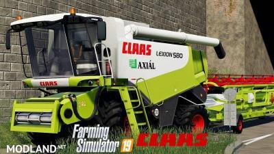 Claas Lexion 580 v 1.0