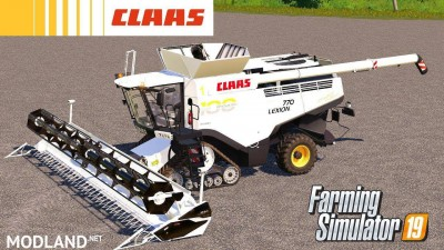 Claas Lexion 700 100th Anniversary (*UNREALISTIC*) v 1.0, 1 photo