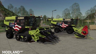 Claas Lexion 795 Limited Edition v 1.0