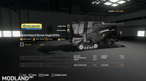 FS19 Bones NewHolland Harvester And Header VE