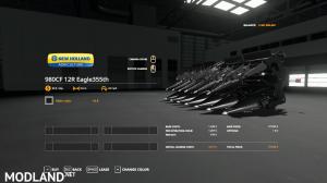 Bones NewHolland Harvester Pack VE 2.0 Update