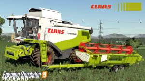 Claas Lexion 530-540 SERIE