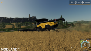 BigRich Mods Agco Ideal combine harvester , 5 photo