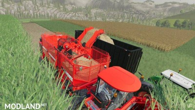 Holmer Terra Dos T4 + Holmer HR12 for Sugarcane v 1.0, 3 photo