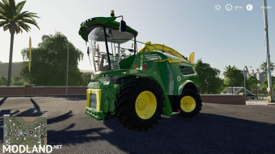 John Deere 8000 Serie Early Acces v 0.5, 1 photo