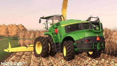 John Deere 9000 US Forage Harvestor v 1.0, 2 photo