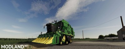John Deere CP690 with Tracks and New Duals Final, 2 photo