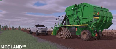 John Deere CP690 with Tracks and New Duals Final, 3 photo
