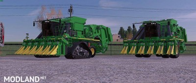 John Deere CP690 with Tracks and New Duals Final, 1 photo