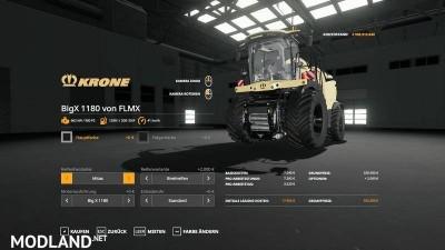 Krone BigX 1180 v1.0, 2 photo