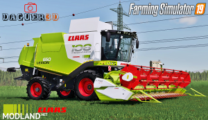 Claas Lexion 600 Series(Old Generation) v 2.0, 3 photo