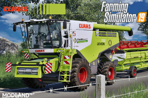 Claas Lexion 700 Series Full Pack v 4.0