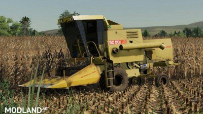NEW HOLLAND 5050 + Header v 1.0