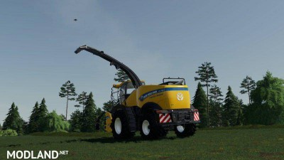 New Holland FR 780 (manual pipe) v 1.0, 2 photo
