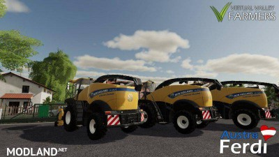 New Holland FR Series v 1.0, 4 photo