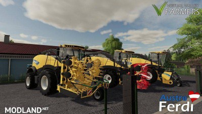 New Holland FR Series v 1.0, 5 photo