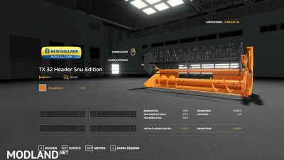 New Holland TX32 SnuEdition v 1.0, 6 photo