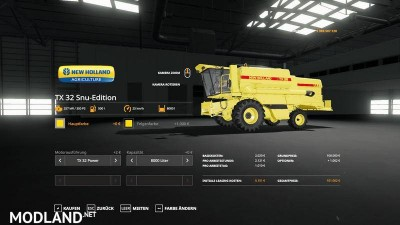 New Holland TX32 SnuEdition v 1.0, 8 photo