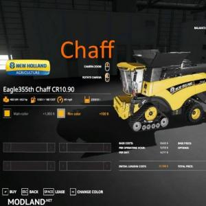 Eagle355th Newholland Chaff Pack