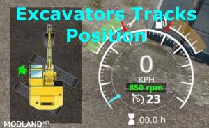 Excavators Tracks Position v 1.1, 1 photo