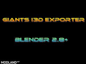 Blender 2.8+ GE i3d Exporter