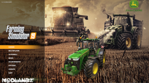 FS19 John Deere Edition Menu Background, 2 photo