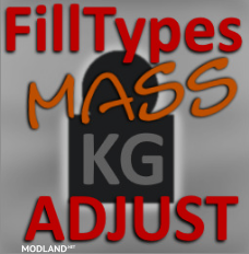 Filltype (Goods) Mass Adjustment (Realistic Weights), 1 photo