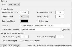 FS Icon Generator v1.3