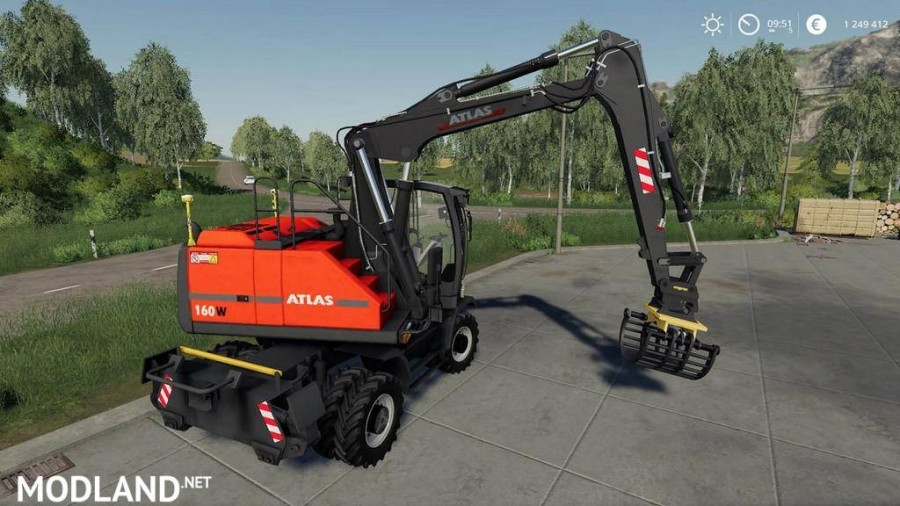 Excavator ATLAS Pack