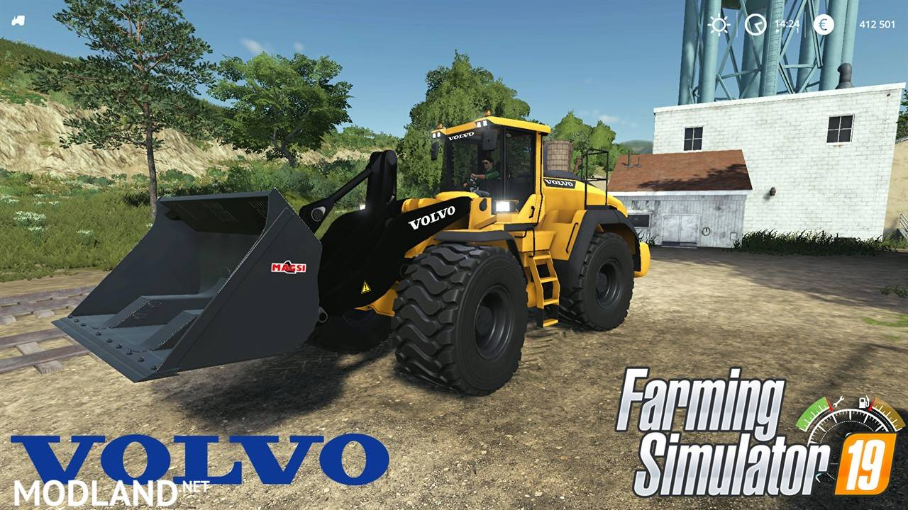 Volvo L220H with bucket