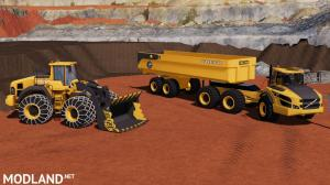 Volvo 350H Loader Mining Edition & Bucket, 3 photo
