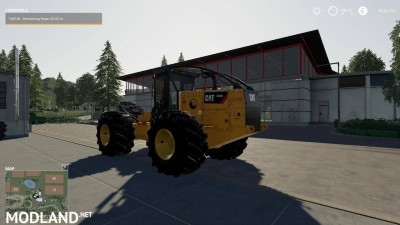 Caterpillar 535D Winch Skidder V 1.0, 3 photo