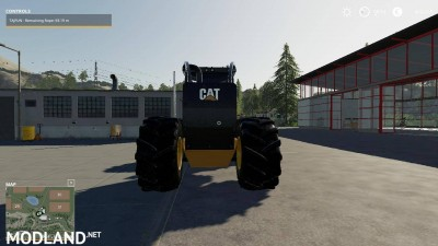 Caterpillar 535D Winch Skidder V 1.0, 4 photo