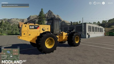 Caterpillar 535D Winch Skidder V 1.0, 5 photo