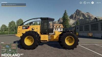 Caterpillar 535D Winch Skidder V 1.0, 6 photo