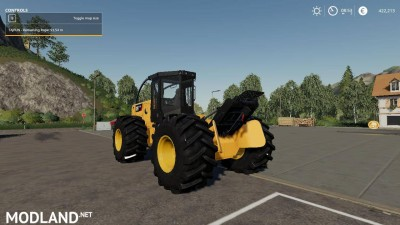 Caterpillar 535D Winch Skidder V 1.0, 7 photo