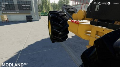 Caterpillar 535D Winch Skidder V 1.0, 9 photo