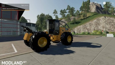 Caterpillar 535D Winch Skidder V 1.0, 1 photo