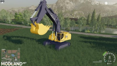 FS19 DEERE EXCAVATOR 870G v 1.6, 2 photo