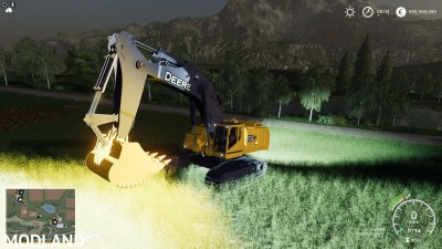 FS19 DEERE EXCAVATOR 870G v 1.6, 3 photo